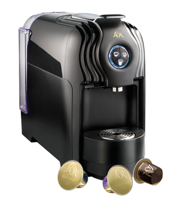 Lor Lucente Pro Pod Machine The Coffee Bean Company